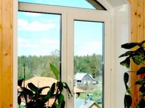 пластиковое окно для дома